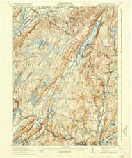 Greenwood Lake, New Jersey 1910 (1935) USGS Old Topo Map 15x15 NJ Quad
