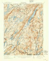 Greenwood Lake, New Jersey 1910 (1942) B USGS Old Topo Map 15x15 NJ Quad