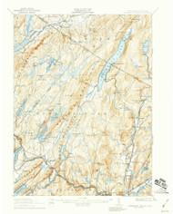 Greenwood Lake, New Jersey 1910 (1959) USGS Old Topo Map 15x15 NJ Quad