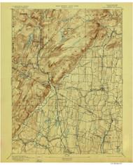 Ramapo, New Jersey 1893 (1898) A USGS Old Topo Map 15x15 NJ Quad