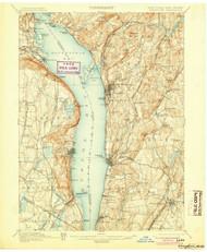 Tarrytown, New Jersey 1902 (1905) USGS Old Topo Map 15x15 NJ Quad