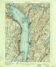 Tarrytown, New Jersey 1902 (1934) USGS Old Topo Map 15x15 NJ Quad