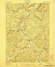 Angelica, NY 1906 (1906) USGS Old Topo Map 15x15 NY Quad