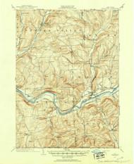 Apalachin, NY 1901 (1901) USGS Old Topo Map 15x15 NY Quad