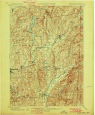 Cambridge, NY 1901 (1901) USGS Old Topo Map 15x15 NY Quad