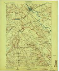 Carthage, NY 1904 (1904) USGS Old Topo Map 15x15 NY Quad