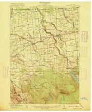 Chateaugay, NY 1915 (1915) USGS Old Topo Map 15x15 NY Quad