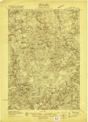 Childwold, NY 1921 (1921) USGS Old Topo Map 15x15 NY Quad