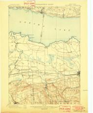 Chittenango, NY 1902 (1902) USGS Old Topo Map 15x15 NY Quad