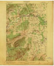 Dannemora, NY 1913 (1913) USGS Old Topo Map 15x15 NY Quad