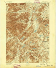 Elizabethtown, NY 1895 (1895) USGS Old Topo Map 15x15 NY Quad