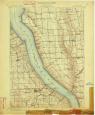 Genoa, NY 1902 (1902) USGS Old Topo Map 15x15 NY Quad