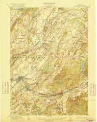 Gouverneur, NY 1915 (1915) USGS Old Topo Map 15x15 NY Quad