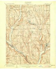Greene, NY 1904 (1904) USGS Old Topo Map 15x15 NY Quad