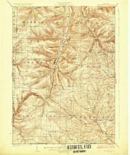 Greenwood, NY 1926 (1926) USGS Old Topo Map 15x15 NY Quad
