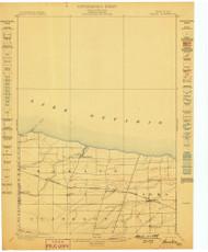 Hamlin, NY 1899 (1899) USGS Old Topo Map 15x15 NY Quad