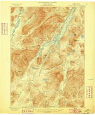 Indian Lake, NY 1899 (1899) USGS Old Topo Map 15x15 NY Quad