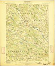 Kasoag, NY 1906 (1906) USGS Old Topo Map 15x15 NY Quad