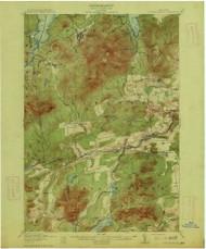 Lyon Mountain, NY 1913 (1913) USGS Old Topo Map 15x15 NY Quad