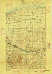Macedon, NY 1900 (1900) USGS Old Topo Map 15x15 NY Quad