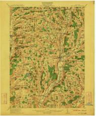 New Berlin, NY 1912 (1912) USGS Old Topo Map 15x15 NY Quad