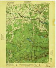 Nicholville, NY 1921 (1921) USGS Old Topo Map 15x15 NY Quad