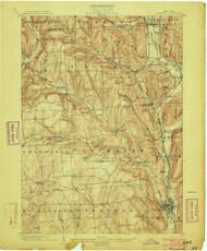 Norwich, NY 1903 (1903) USGS Old Topo Map 15x15 NY Quad