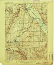 Nunda, NY 1905 (1905) USGS Old Topo Map 15x15 NY Quad