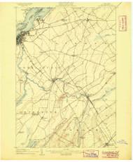 Ogdensburg, NY 1905 (1905) USGS Old Topo Map 15x15 NY Quad