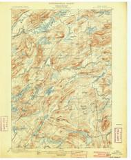 Old Forge, NY 1901 (1901) USGS Old Topo Map 15x15 NY Quad