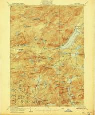 Piseco Lake, NY 1906 (1906) USGS Old Topo Map 15x15 NY Quad