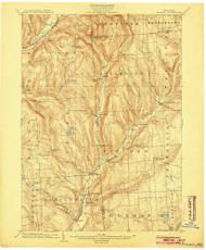 Pitcher, NY 1904 (1904) USGS Old Topo Map 15x15 NY Quad