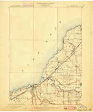 Silver Creek, NY 1899 (1899) USGS Old Topo Map 15x15 NY Quad