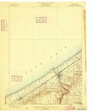 Westfield, NY 1899 (1899) USGS Old Topo Map 15x15 NY Quad