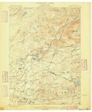 Wilmurt, NY 1900 (1900) USGS Old Topo Map 15x15 NY Quad