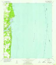 Bellefontaine, Alabama 1956 (1957) USGS Old Topo Map Reprint 7x7 AL Quad 303208