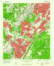 Bessemer, Alabama 1959 (1960) USGS Old Topo Map Reprint 7x7 AL Quad 303225