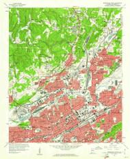 Birmingham North, Alabama 1959 (1961) USGS Old Topo Map Reprint 7x7 AL Quad 303243