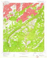 Birmingham South, Alabama 1959 (1960) USGS Old Topo Map Reprint 7x7 AL Quad 303250