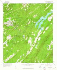 Cahaba Heights, Alabama 1959 (1960) USGS Old Topo Map Reprint 7x7 AL Quad 303387