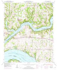 Cairo, Alabama 1950 (1974) USGS Old Topo Map Reprint 7x7 AL Quad 303392