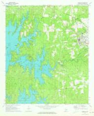 Dadeville, Alabama 1971 (1973) USGS Old Topo Map Reprint 7x7 AL Quad 303632