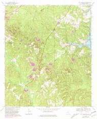Fort Gaines, Alabama 1969 (1981) USGS Old Topo Map Reprint 7x7 AL Quad 303871