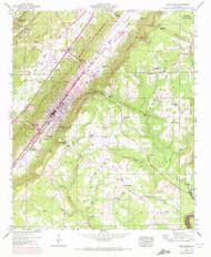 Fort Payne, Alabama 1946 (1972) USGS Old Topo Map Reprint 7x7 AL Quad 303883