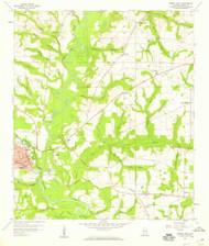 Geneva East, Alabama 1957 (1959) USGS Old Topo Map Reprint 7x7 AL Quad 303963