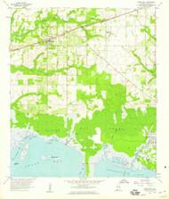 Grand Bay, Alabama 1958 (1959) USGS Old Topo Map Reprint 7x7 AL Quad 304019