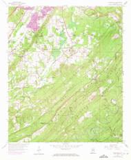 Greenwood, Alabama 1959 (1971) USGS Old Topo Map Reprint 7x7 AL Quad 304047