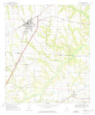 Headland, Alabama 1969 (1971) USGS Old Topo Map Reprint 7x7 AL Quad 304128