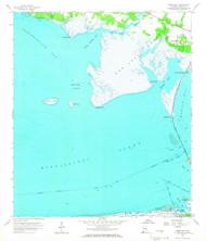 Heron Bay, Alabama 1958 (1966) USGS Old Topo Map Reprint 7x7 AL Quad 304151
