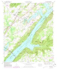 Hollywood, Alabama 1947 (1981) USGS Old Topo Map Reprint 7x7 AL Quad 304200